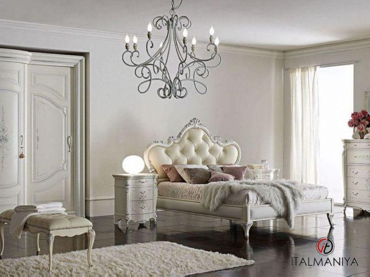 Фото 1 - Спальня Tiziano фабрики A&M Ghezzani (производство Италия) в стиле прованс из массива дерева