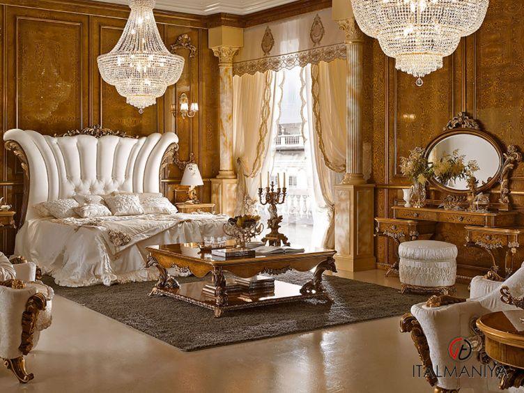 Фото 1 - Спальня Dolcevita фабрики AR Arredamenti (производство Италия) в классическом стиле из массива дерева