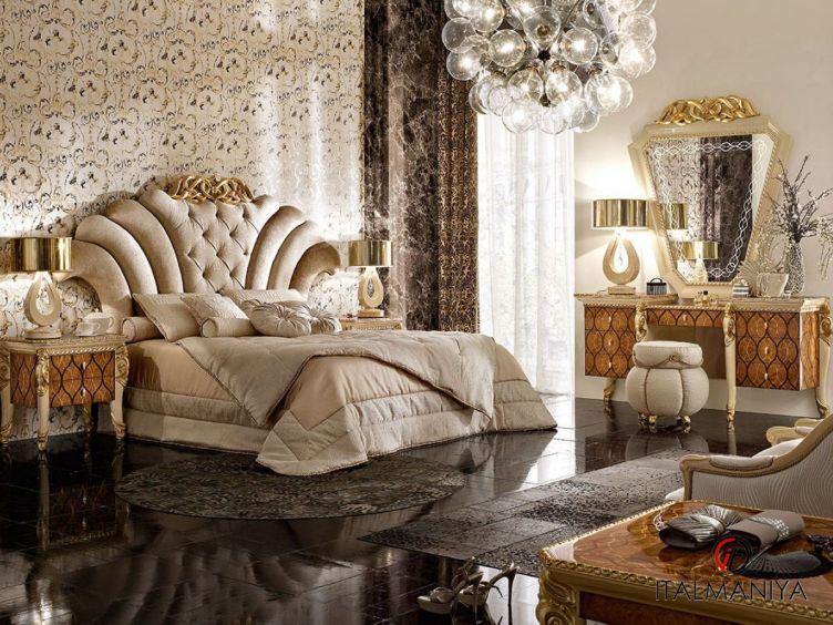 Фото 1 - Спальня Harmony фабрики AR Arredamenti (производство Италия) в стиле арт-деко из массива дерева
