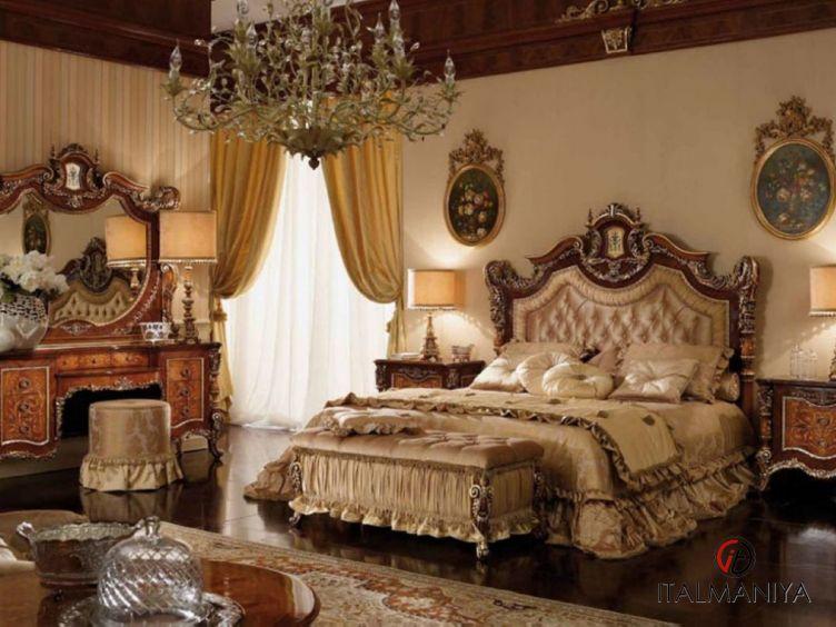 Фото 1 - Спальня Camelie фабрики Agostini (производство Италия) в классическом стиле из массива дерева