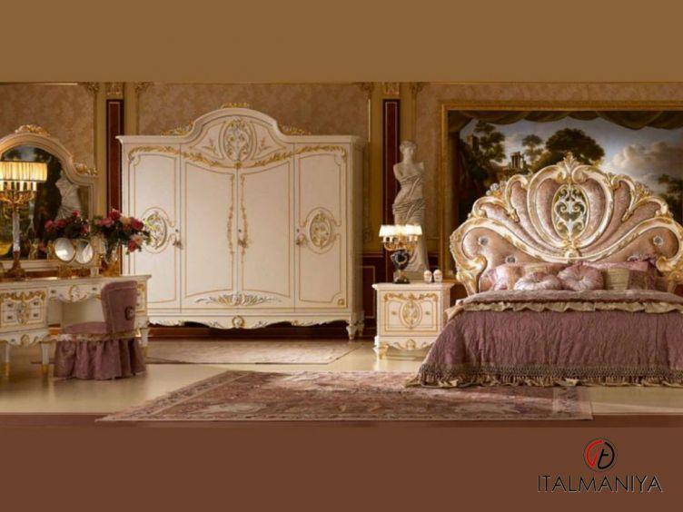 Фото 1 - Спальня Eden Laccato фабрики Agostini (производство Италия) в классическом стиле из массива дерева
