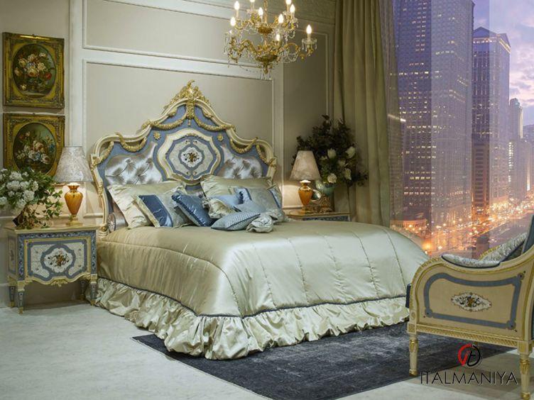 Фото 1 - Спальня Josephine фабрики Agostini (производство Италия) в классическом стиле из массива дерева