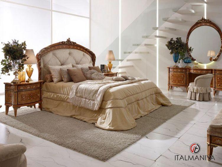 Фото 1 - Спальня Villa Reale фабрики Agostini (производство Италия) в классическом стиле из массива дерева