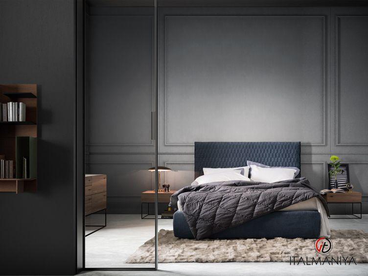 Фото 1 - Спальня Allen фабрики Alf (производство Италия) в современном стиле из МДФ