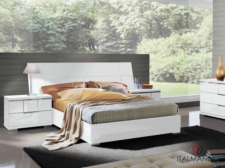 Фото 1 - Спальня Asti фабрики Alf (производство Италия) в современном стиле из МДФ