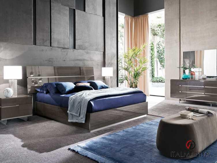 Фото 1 - Спальня Athena фабрики Alf (производство Италия) в современном стиле из МДФ