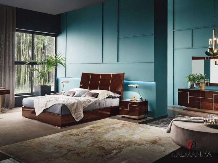 Фото 1 - Спальня Bellagio фабрики Alf (производство Италия) в современном стиле из МДФ