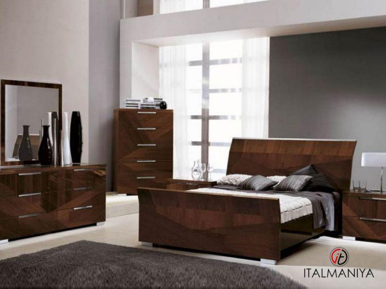 Фото 1 - Спальня Capri фабрики Alf (производство Италия) в современном стиле из МДФ