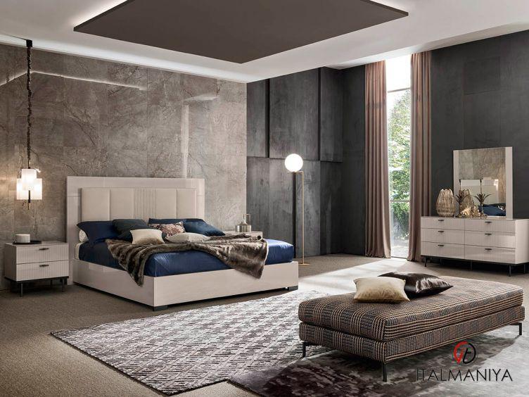 Фото 1 - Спальня Claire фабрики Alf (производство Италия) в современном стиле из МДФ