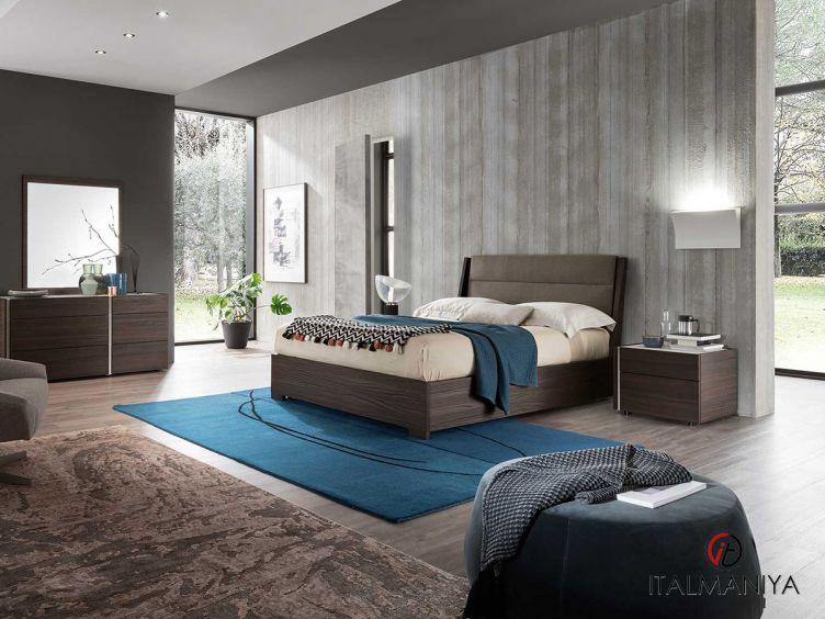 Фото 1 - Спальня DaDo-Dice bruno oak surfaced 100991 фабрики Alf (производство Италия) в современном стиле из МДФ