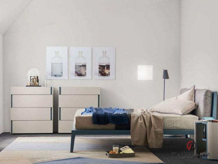 Фото 1 - Спальня Dorian фабрики Alf (производство Италия) в современном стиле из массива дерева