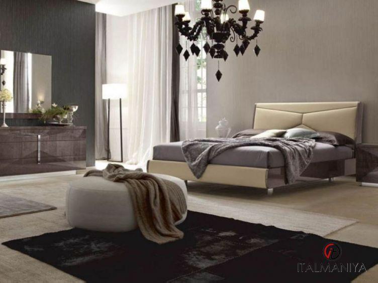 Фото 1 - Спальня Elegance Eva фабрики Alf (производство Италия) в современном стиле из МДФ