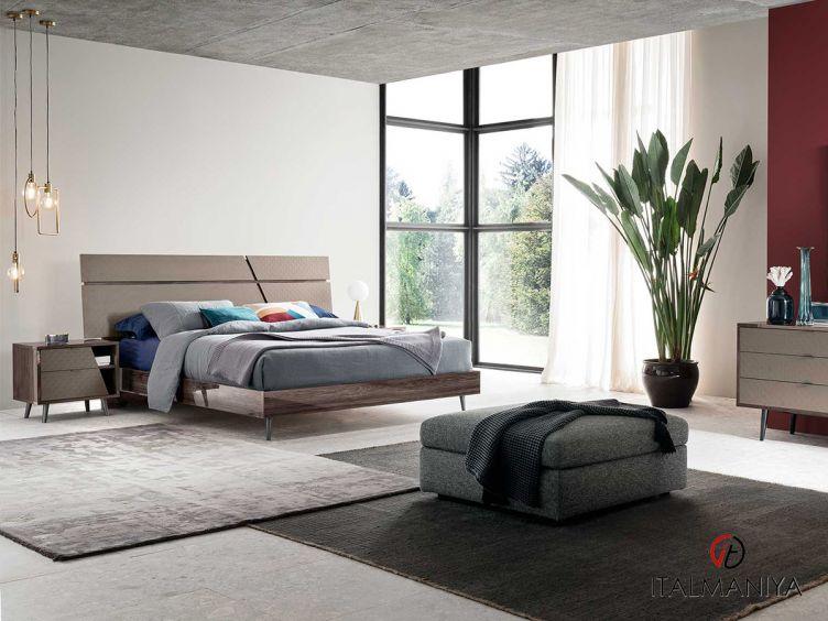 Фото 1 - Спальня FRIDA 100983 фабрики Alf (производство Италия) в современном стиле из МДФ