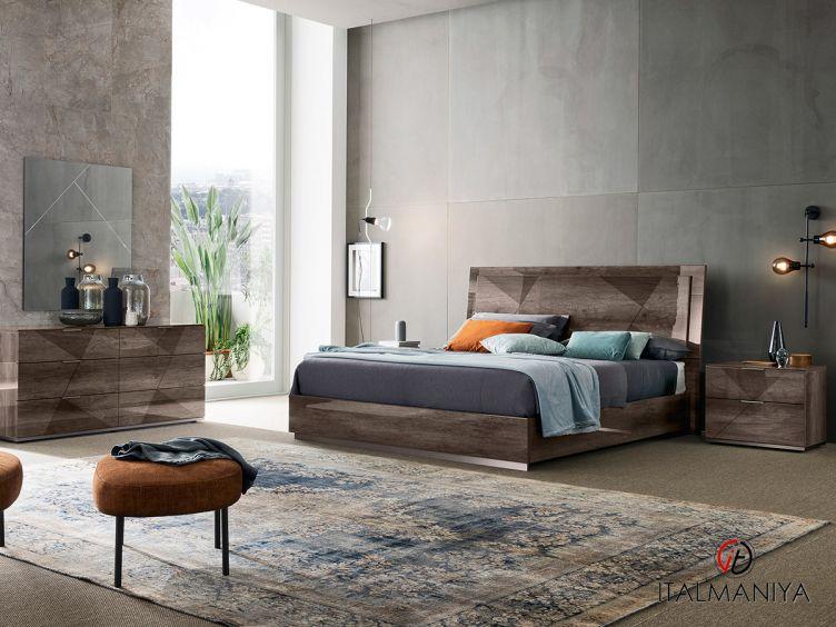 Фото 1 - Спальня Favignana 100988 фабрики Alf (производство Италия) в современном стиле из МДФ
