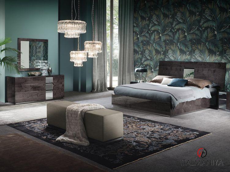 Фото 1 - Спальня Heritage фабрики Alf (производство Италия) в современном стиле из МДФ