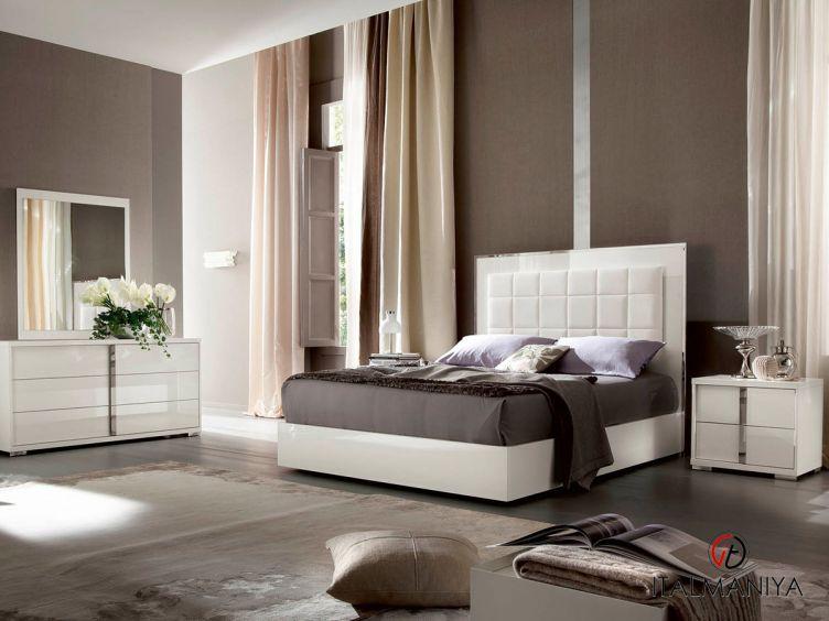 Фото 1 - Спальня Imperia фабрики Alf (производство Италия) в современном стиле из МДФ