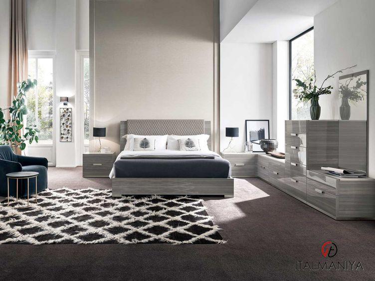 Фото 1 - Спальня Iris фабрики Alf (производство Италия) в современном стиле