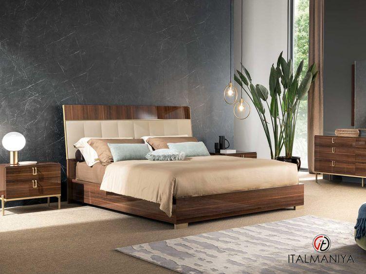 Фото 1 - Спальня Mid Century фабрики Alf (производство Италия) в современном стиле из МДФ