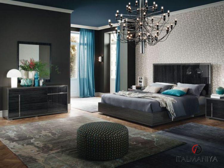 Фото 1 - Спальня Minerva фабрики Alf (производство Италия) в современном стиле из массива дерева
