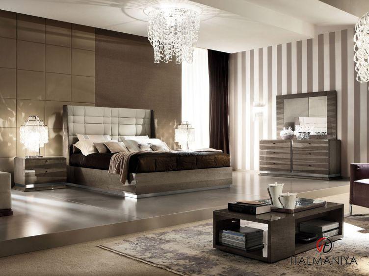 Фото 1 - Спальня Monaco фабрики Alf (производство Италия) в современном стиле из массива дерева