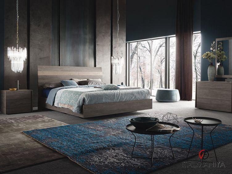 Фото 1 - Спальня Nizza фабрики Alf (производство Италия) в современном стиле из МДФ