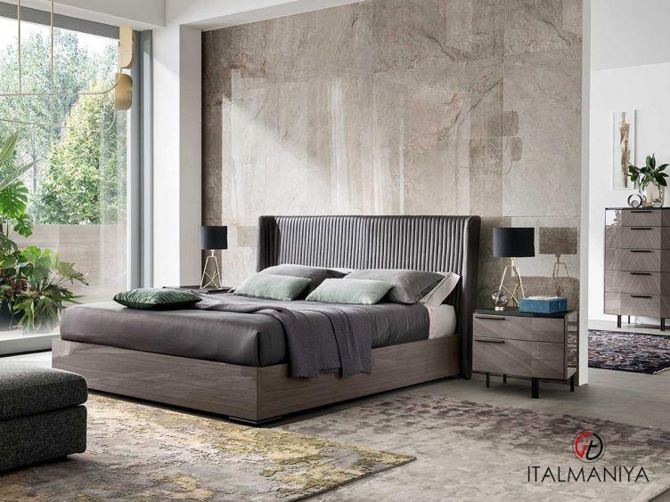 Фото 1 - Спальня Olimpia фабрики Alf (производство Италия) в современном стиле из МДФ