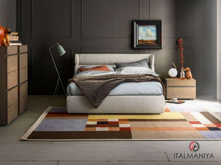 Фото 1 - Спальня Oregon фабрики Alf (производство Италия) в современном стиле из массива дерева