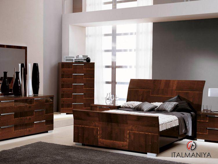Фото 1 - Спальня Pisa фабрики Alf (производство Италия) в современном стиле из МДФ