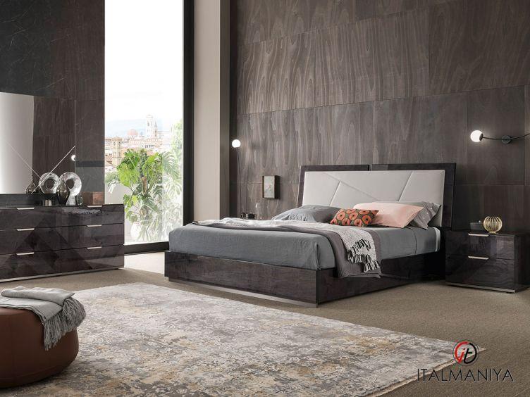 Фото 1 - Спальня Riviera 100987 фабрики Alf (производство Италия) в современном стиле из МДФ