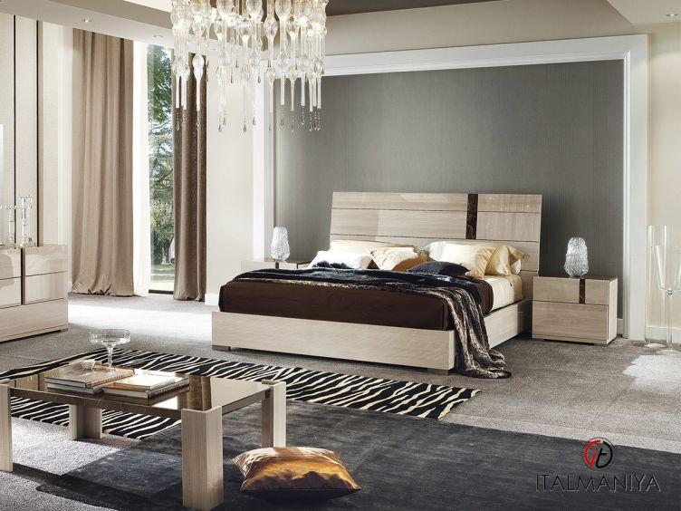 Фото 1 - Спальня Teodora фабрики Alf (производство Италия) в современном стиле из массива дерева