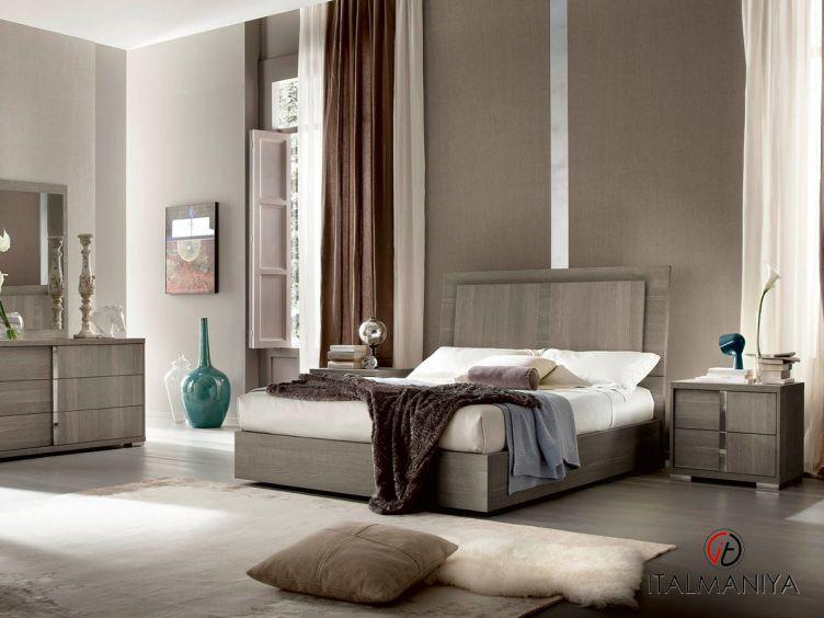 Фото 1 - Спальня Tivoli фабрики Alf (производство Италия) в современном стиле из массива дерева