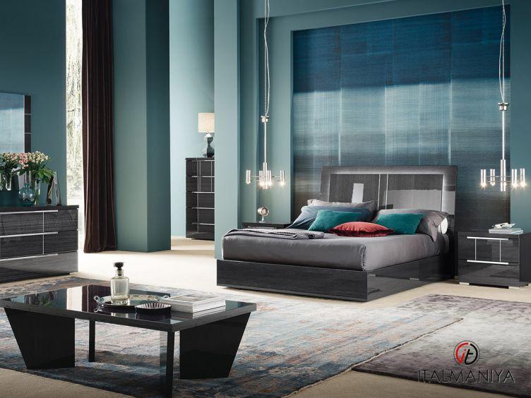 Фото 1 - Спальня Versilia фабрики Alf (производство Италия) в современном стиле из массива дерева