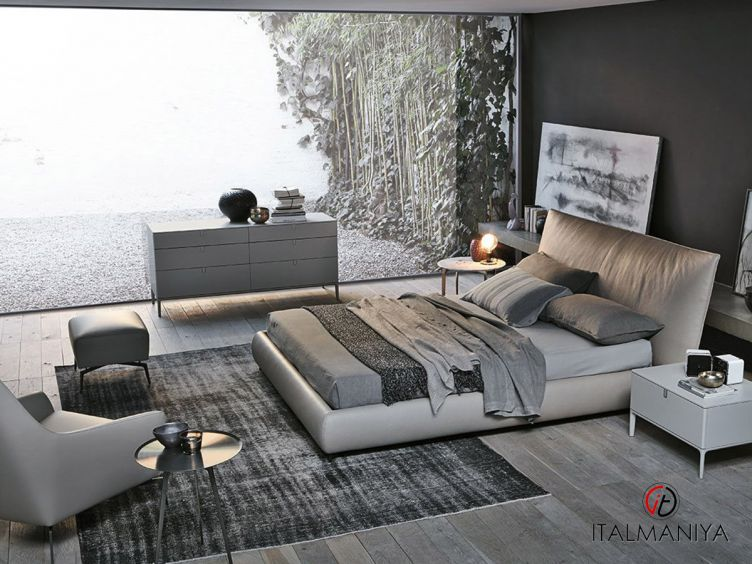 Фото 1 - Спальня Suite фабрики Alivar (производство Италия) в современном стиле