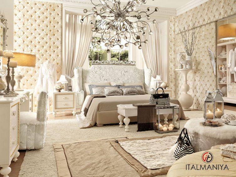 Фото 1 - Спальня Prima Classe фабрики Altamoda (производство Италия) в классическом стиле из массива дерева