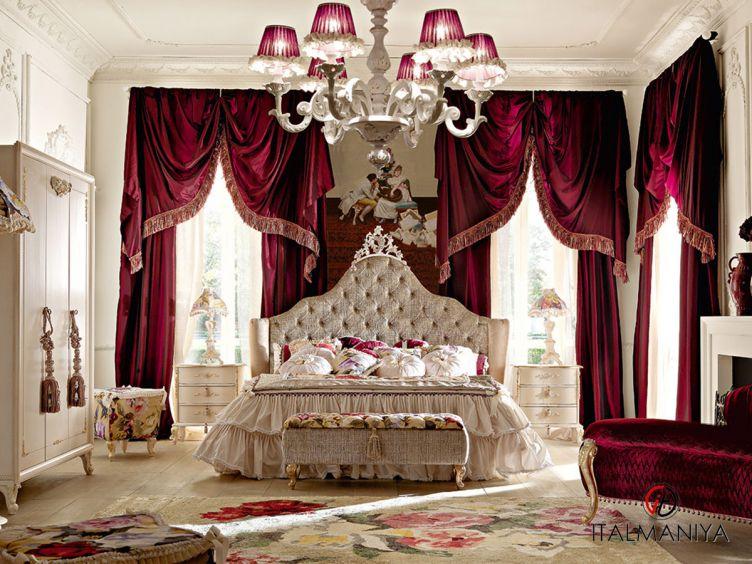 Фото 1 - Спальня Vipart фабрики Altamoda (производство Италия) в классическом стиле из массива дерева