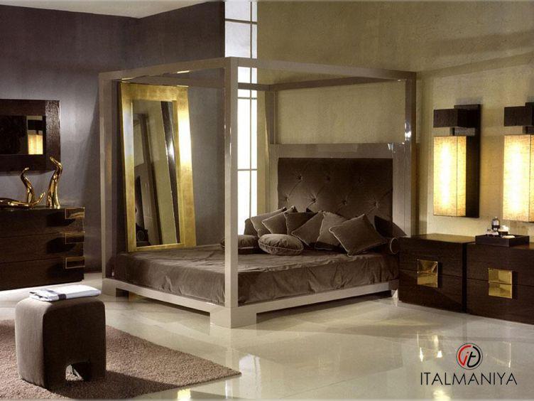 Фото 1 - Спальня Amelihome 4 фабрики Amelihome (производство Италия) в классическом стиле из массива дерева
