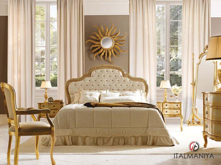 Фото 1 - Спальня 10N фабрики Andrea Fanfani (производство Италия) в классическом стиле из массива дерева