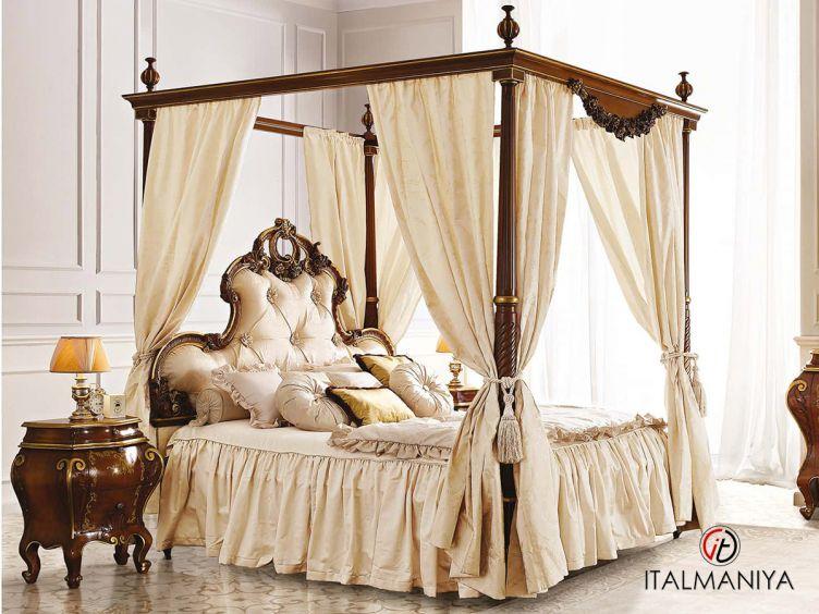 Фото 1 - Спальня 12N фабрики Andrea Fanfani (производство Италия) в классическом стиле из массива дерева