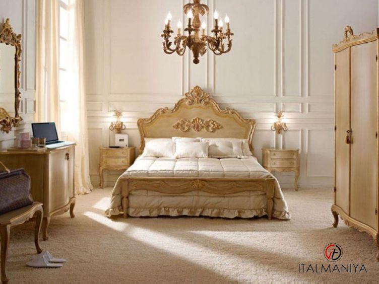 Фото 1 - Спальня 17N фабрики Andrea Fanfani (производство Италия) в классическом стиле из массива дерева