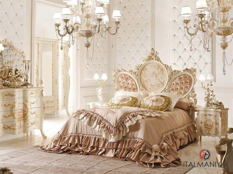 Фото 1 - Спальня 323GL фабрики Andrea Fanfani (производство Италия) в классическом стиле из массива дерева