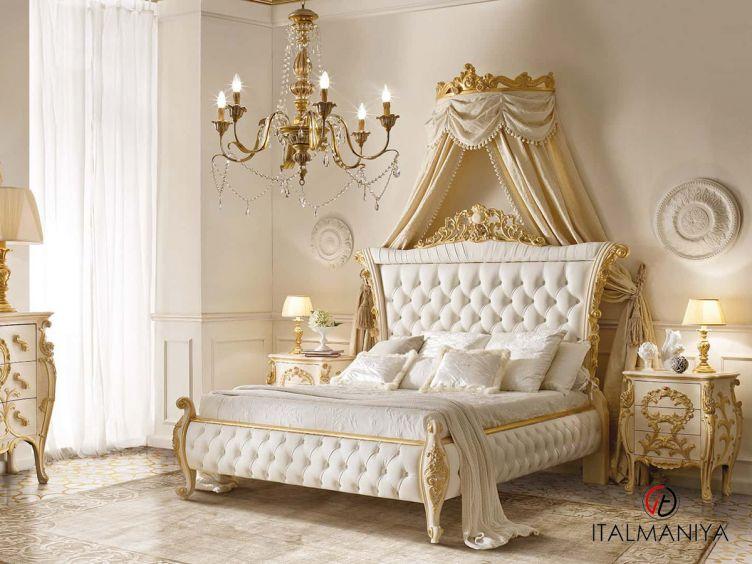 Фото 1 - Спальня 4N фабрики Andrea Fanfani (производство Италия) в классическом стиле из массива дерева