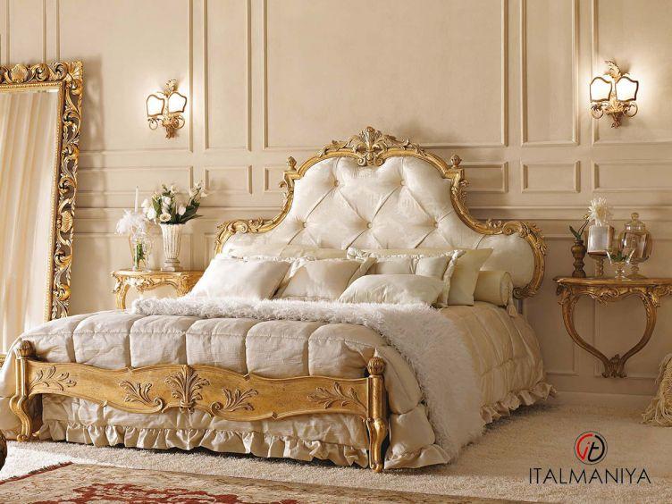 Фото 1 - Спальня 6N фабрики Andrea Fanfani (производство Италия) в классическом стиле из массива дерева