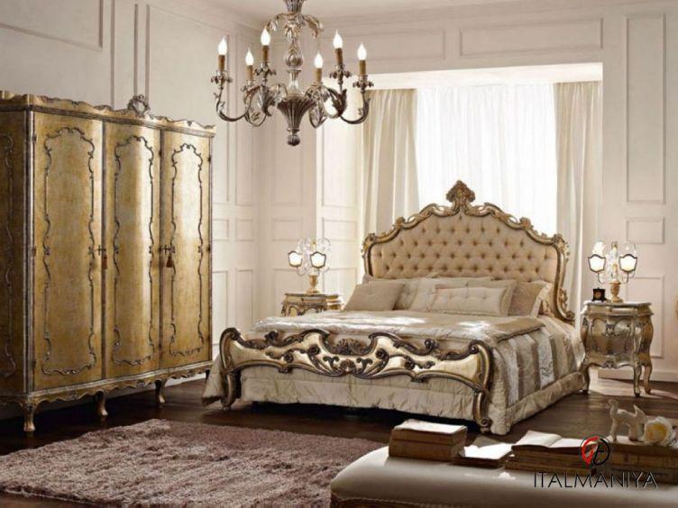 Фото 1 - Спальня 9N фабрики Andrea Fanfani (производство Италия) в классическом стиле из массива дерева