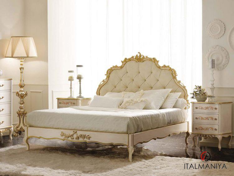 Фото 1 - Спальня New 1 фабрики Andrea Fanfani (производство Италия) в классическом стиле из массива дерева