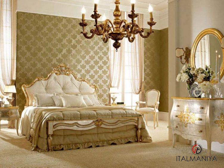 Фото 1 - Спальня New 2 фабрики Andrea Fanfani (производство Италия) в классическом стиле из массива дерева
