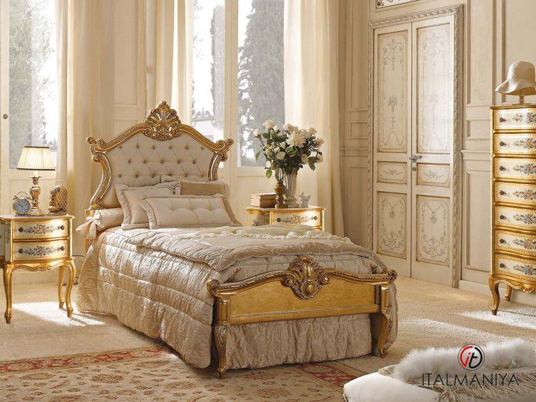 Фото 1 - Спальня New 9N фабрики Andrea Fanfani (производство Италия) в классическом стиле из массива дерева