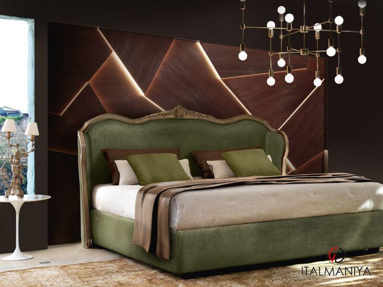 Фото 1 - Спальня TORNABUONI 2S 100996 фабрики Andrea Fanfani (производство Италия) в стиле арт-деко из массива дерева