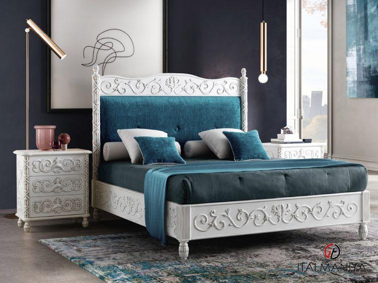 Фото 1 - Спальня TORNABUONI 4S 100998 фабрики Andrea Fanfani (производство Италия) в стиле арт-деко из массива дерева