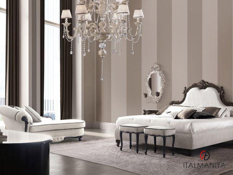 Фото 1 - Спальня Tornabuoni 1S фабрики Andrea Fanfani (производство Италия) в стиле арт-деко из массива дерева