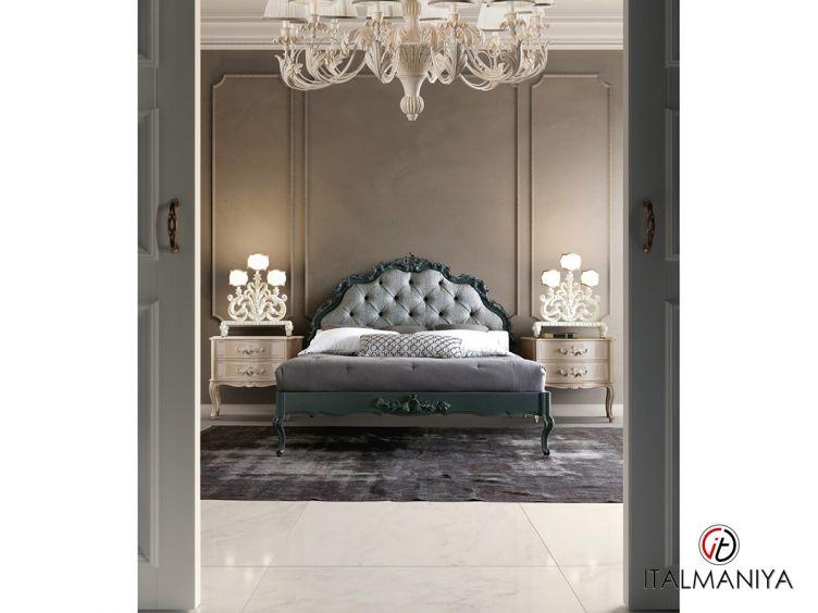 Фото 1 - Спальня Tornabuoni 3S 100997 фабрики Andrea Fanfani (производство Италия) в стиле арт-деко из массива дерева